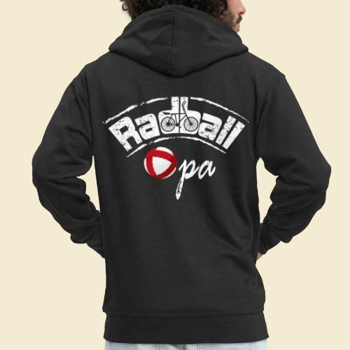 Radball | Opa - Männer Premium Kapuzenjacke