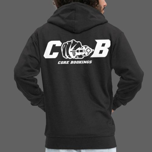 CORE Bookings Logo with Text - Männer Premium Kapuzenjacke