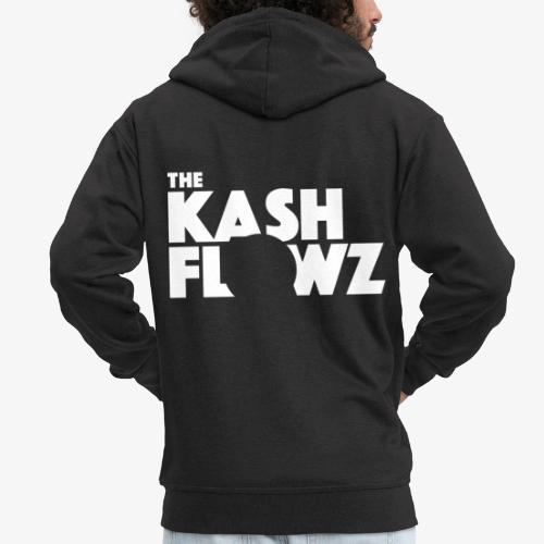 The Kash Flowz Official Logo White - Veste à capuche Premium Homme