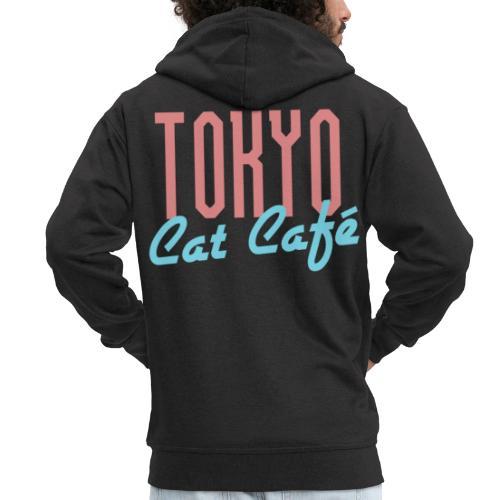 Tokyo Katzen Café Hobby Katze Haustiere - Männer Premium Kapuzenjacke