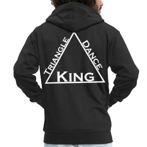 Triangle Dreieck Dance Tanz King König - Männer Premium Kapuzenjacke