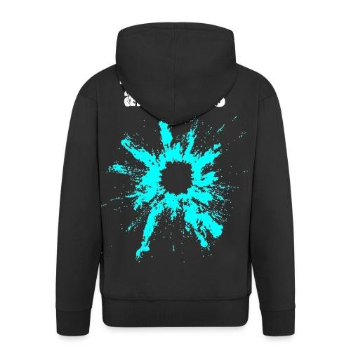 how the end always is... - Felpa con zip Premium da uomo
