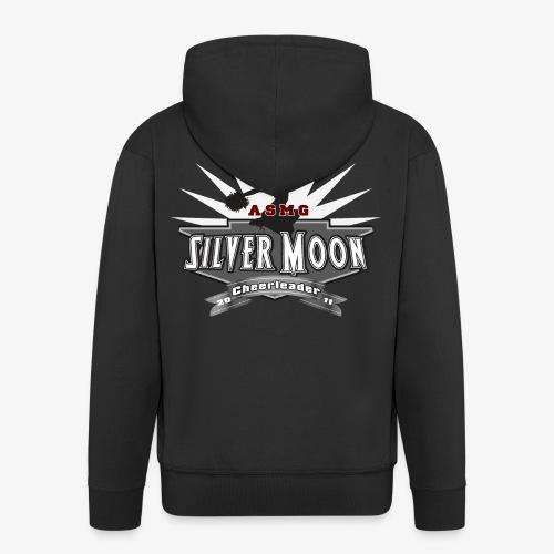 Silver Moon Logo gross - Männer Premium Kapuzenjacke