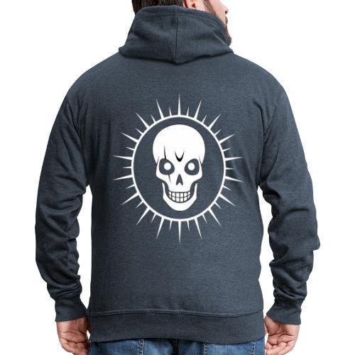 Skull - Men's Premium Hooded Jacket