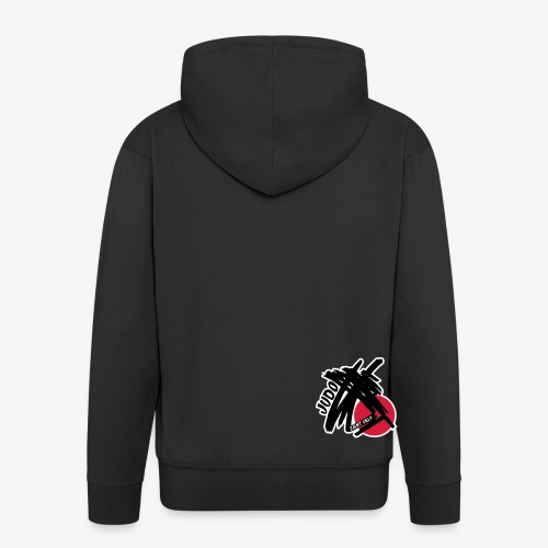 Logo Judo St gély - Veste à capuche Premium Homme