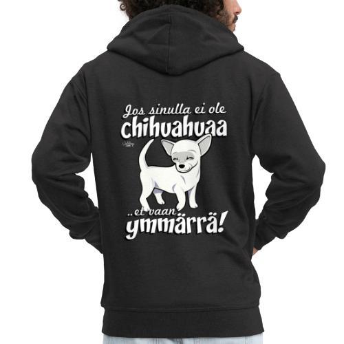 chihuymmarra8 - Miesten premium vetoketjullinen huppari