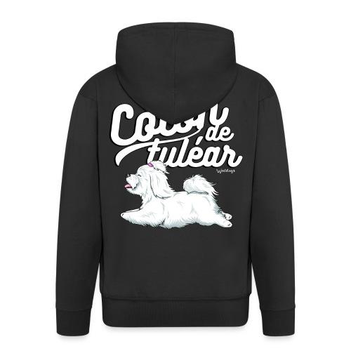 Coton De Tuléar 001 - Men's Premium Hooded Jacket