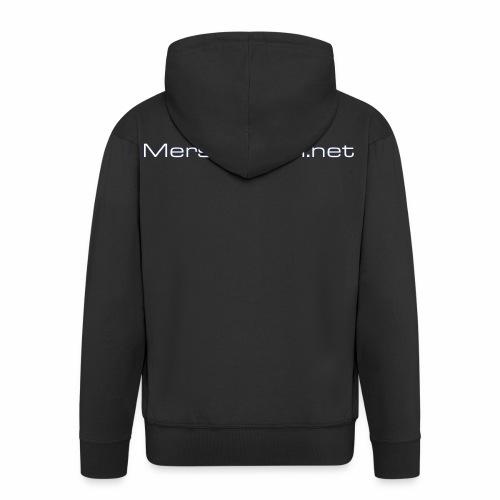 Mersforum net classic - Miesten premium vetoketjullinen huppari