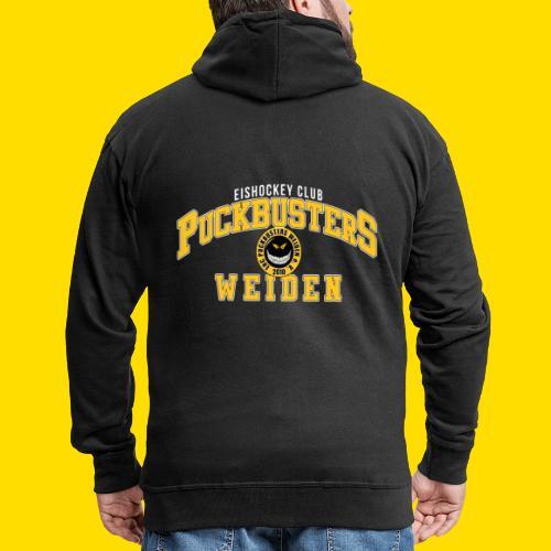 College Style Puckbusters - Männer Premium Kapuzenjacke