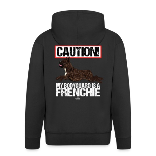 frenchbodyguard2 - Men's Premium Hooded Jacket