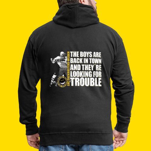 boysareback PUCKBUSTERS Shirt - Männer Premium Kapuzenjacke