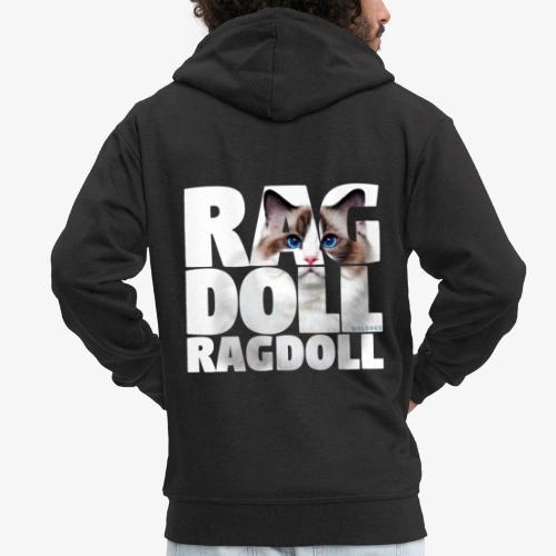 Ragdoll I - Miesten premium vetoketjullinen huppari