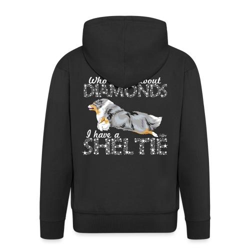 sheltiediamonds - Men's Premium Hooded Jacket