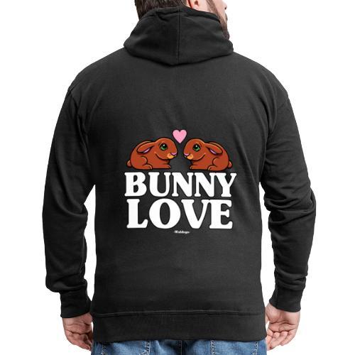 Bunny Love 4 - Miesten premium vetoketjullinen huppari
