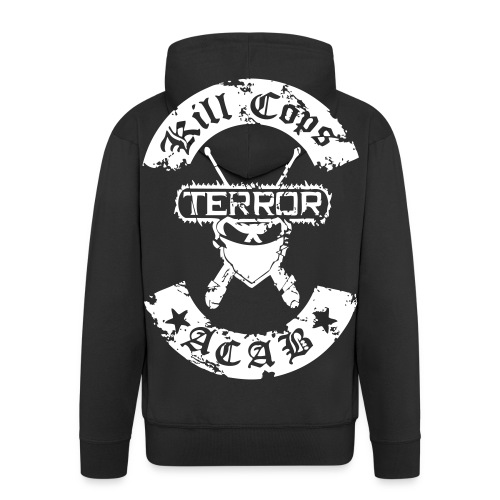 Kill Cops Terror - Männer Premium Kapuzenjacke