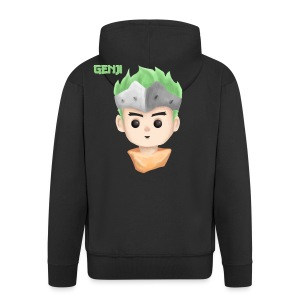 Young Genji - Made by Alpha - Männer Premium Kapuzenjacke