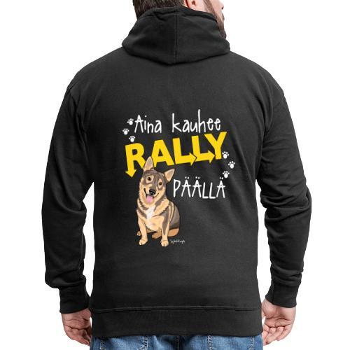 Vallhund Göötti Rally - Miesten premium vetoketjullinen huppari