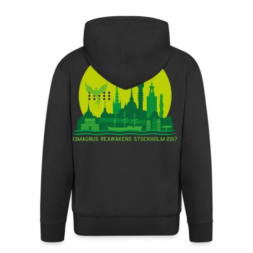 13MAGNUS STOCKHOLM GLOBE - Men's Premium Hooded Jacket