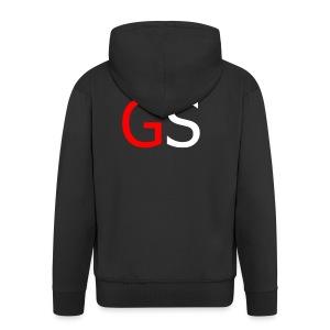 GS Logo Simple - Männer Premium Kapuzenjacke