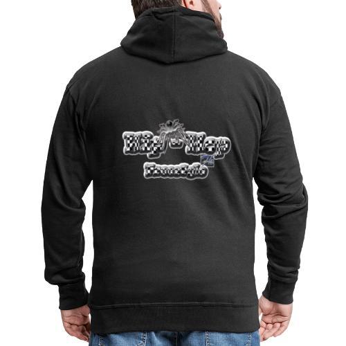 Fherry-Hio Hop - Felpa con zip Premium da uomo
