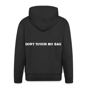 Don't touch my bag tygpåse - Premium-Luvjacka herr