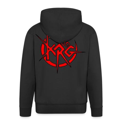 logokrg500noir - Veste à capuche Premium Homme