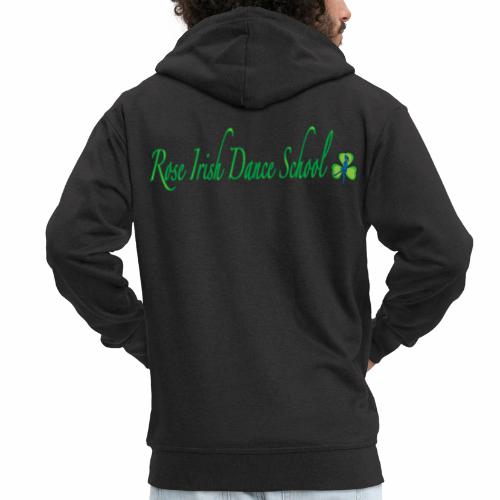 Rose Irish Dance School - Mannenjack Premium met capuchon