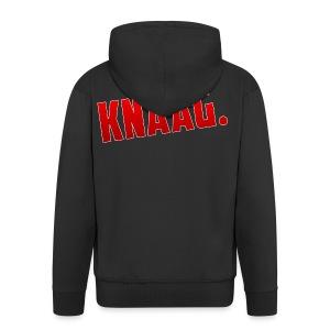 KNAAG. - T-Shirt - Mannenjack Premium met capuchon
