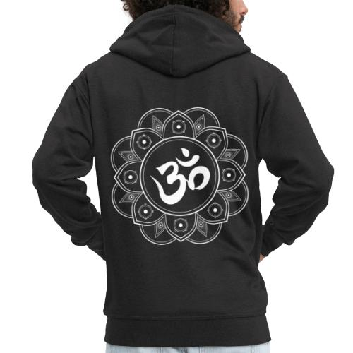 Om Mandala - Men's Premium Hooded Jacket