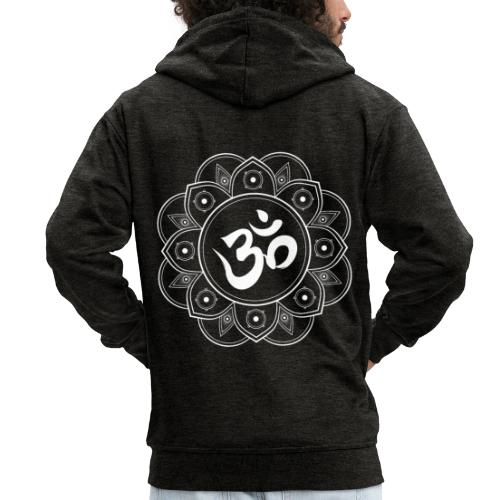 Om Mandala - Men's Premium Hooded Jacket