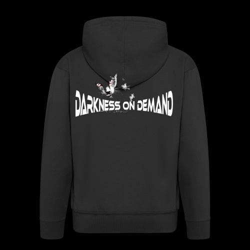 DoD Darkness on Demand Cat - Männer Premium Kapuzenjacke