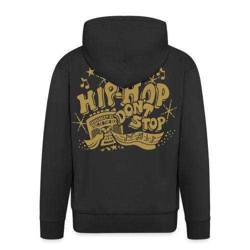 hiphop_style - Männer Premium Kapuzenjacke