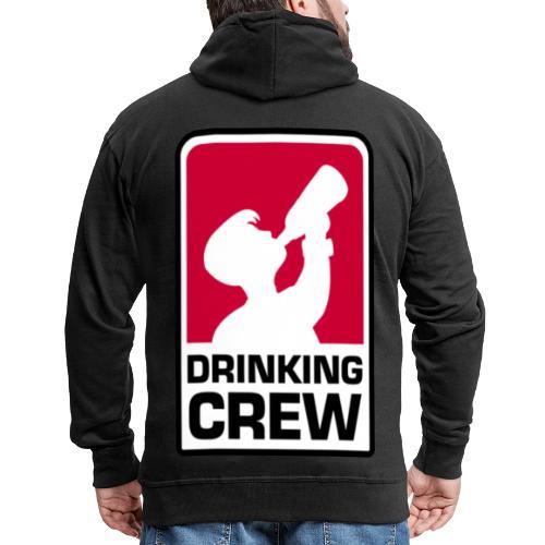 Drinking Crew Logo - Männer Premium Kapuzenjacke