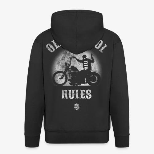 OldSchoolRules2 - Chaqueta con capucha premium hombre