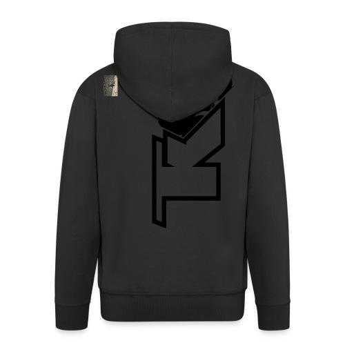 2017 TK Logo Noir sanstexte - Veste à capuche Premium Homme