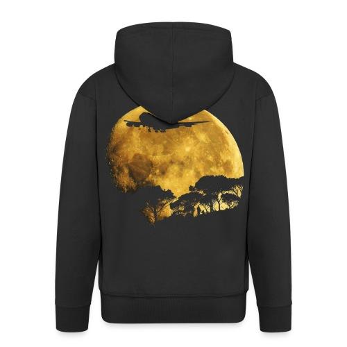 full moon - Men's Premium Hooded Jacket
