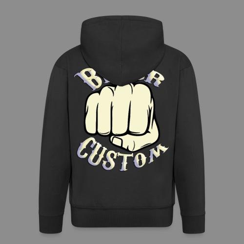 Biker Custom - Chaqueta con capucha premium hombre