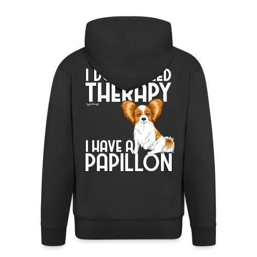 papitherapy2 - Men's Premium Hooded Jacket