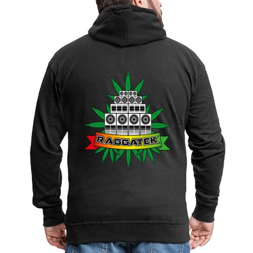 Raggatek Sound System - Men's Premium Hooded Jacket