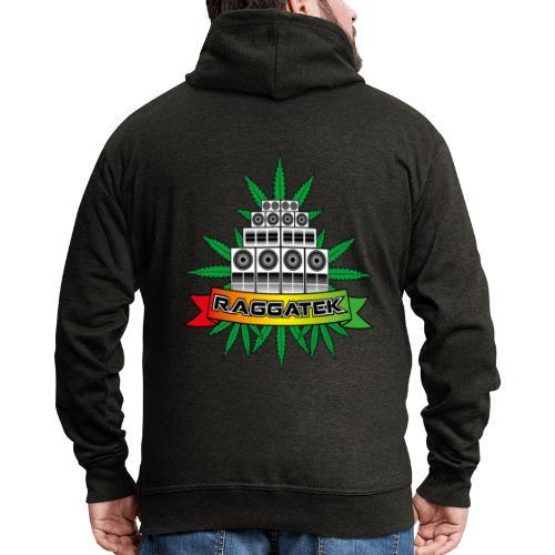 Raggatek Sound System - Men's Premium Hooded Jacket