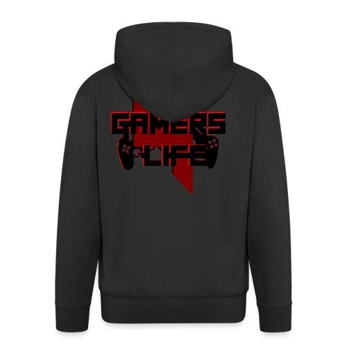 Gamers 4 Life - Männer Premium Kapuzenjacke
