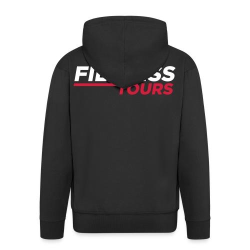 FILMRISS TOURS – lustiges Shirt für Partys, JGA - Männer Premium Kapuzenjacke