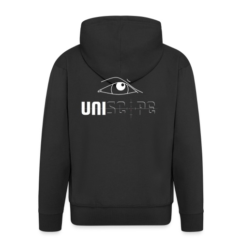 UNISCOPE - LOGO - Männer Premium Kapuzenjacke