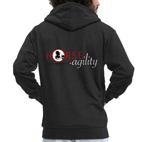 Interessengemeinschaft Horse Agility - Männer Premium Kapuzenjacke