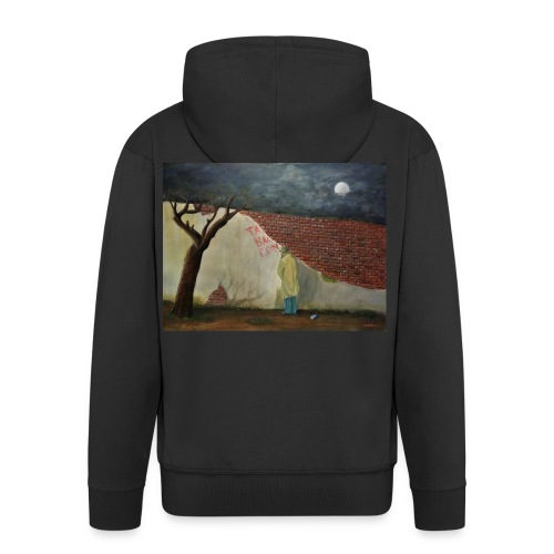 That's better - Brexit Art - Men's Premium Hooded Jacket