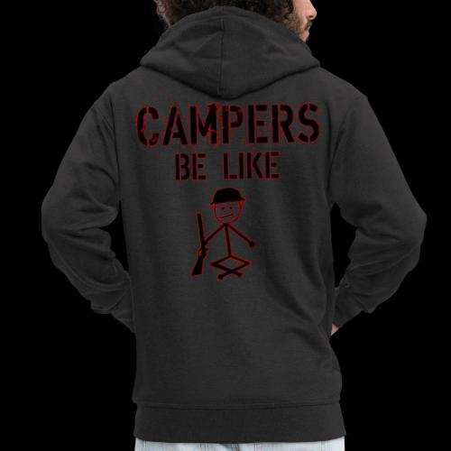 Camper Gaming - Männer Premium Kapuzenjacke