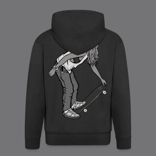 SKATEBOARDING Tee Shirt - Men's Premium Hooded Jacket
