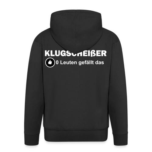 Klugscheisser - Männer Premium Kapuzenjacke