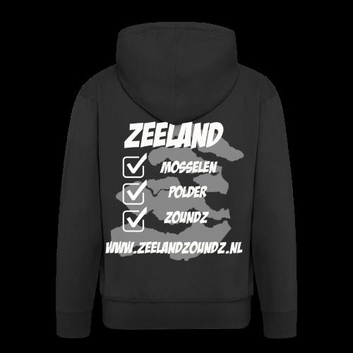 Mosselen - Polder - ZoundZ - Mannenjack Premium met capuchon