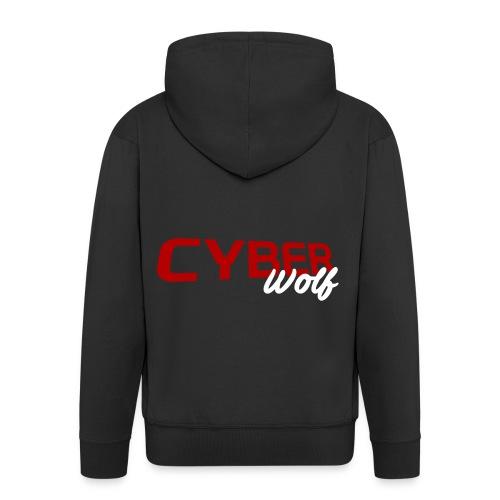T-shirt Zwart - Mannenjack Premium met capuchon